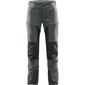 Haglöfs Rugged Mountain Pantalon Femme, magnetite/true black